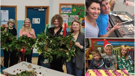 Portishead Primary Friends of School raised a huge sum. Pictures: PPFOS