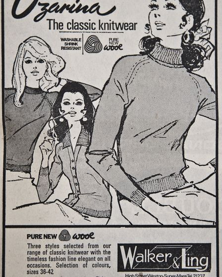 Ads 3rd October 1969 Edition. Picture: WESTON MERCURY