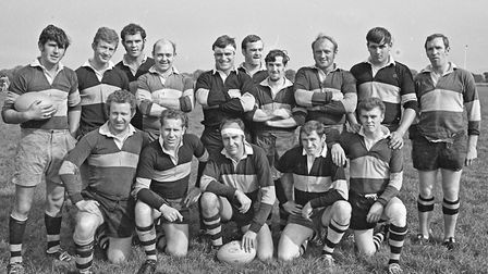 A team photograph before Hornet's game with Clifton Wanderers. Picture: WESTON MERCURY
