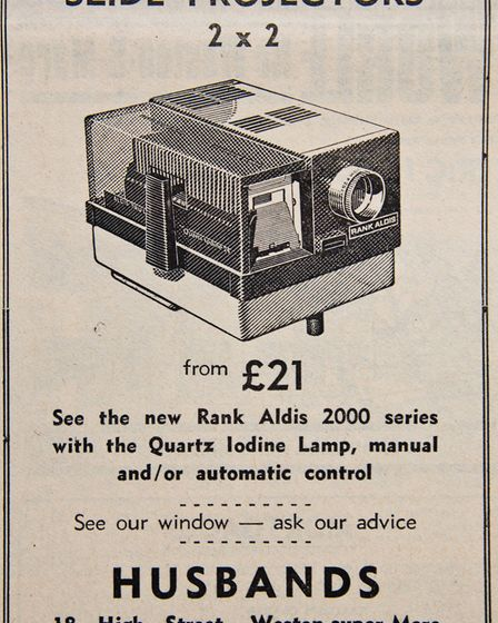Ads 26th September 1969 Edition. Picture: MARK ATHERTON