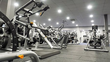 he membership, worth £400, includes use of the centres 155-station gym