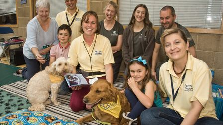 The Green Pastures Vets' Dog Day helped raise funds for the Pets as Therapy organisation. Picture