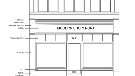Plans to improve Weston's high street shop fronts