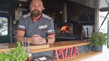 Craig from Street Pizza at eat:Weston. Picture: MARK ATHERTON