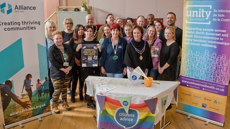 Somewhere to go. Homeless health and wellbeing event. Picture: MARK ATHERTON