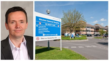 Cllr Mike Bell is not happy with the decision to axe Weston General Hospital's overnight A&E service