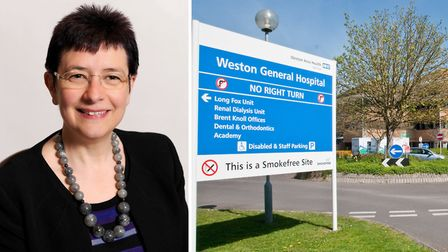 Julia Ross said the CCG has 'no intention' of selling Weston General Hospital.