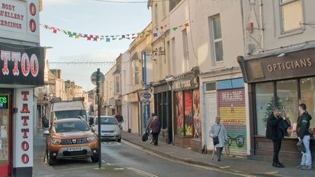 Meadow Street (stock image - people and businesses are not connected with the police investigation).