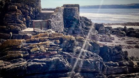 Picturesque rock formations at Anchor Head.Picture: Derek Hitchins