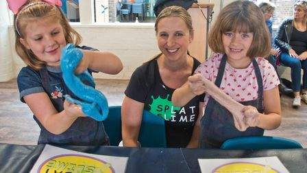 Slime and science workshop at Weston museum. Picture: MARK ATHERTON