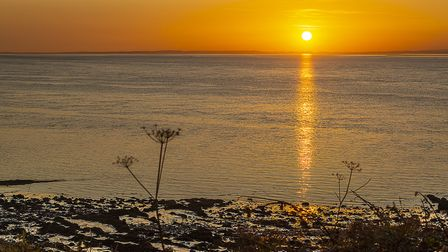 A warm summers night in Weston.Picture: Alan Harrison