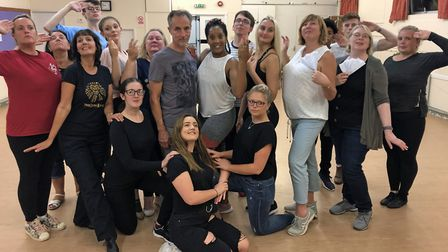 WODS will perform Evita at the Blakehay.Picture: Russell Scott