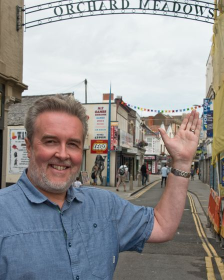 Paul Batts believes areas such as Orchard Meadows will play important roles in Weston town centre. P