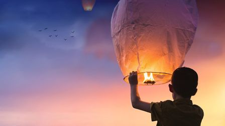 Sky lanterns will not be allowed to be released.