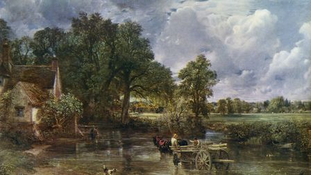'The Hay Wain', painted in 1821 by John Constable who was rejected by the British establishment but