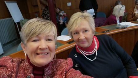 Zena Simmons and Helen Kerr-Wilbur were delighted with the council vote.