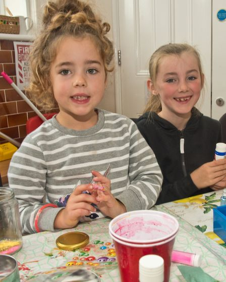 Worle Library. New fun palace with crafts. Picture: MARK ATHERTON