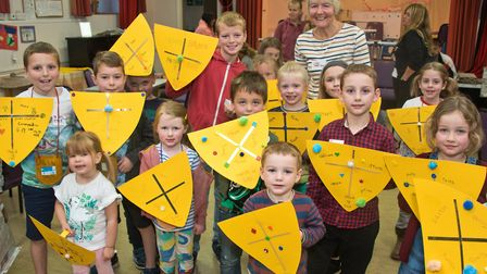 David and Goliath Messy church at Milton Methodist. Picture: MARK ATHERTON
