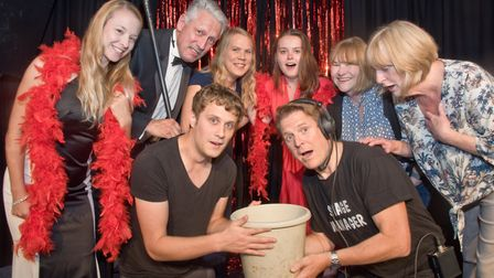 """Shipham Players performing the Murder Mystery """"A Show To Die For"""".. Picture: MARK ATHERTON"""