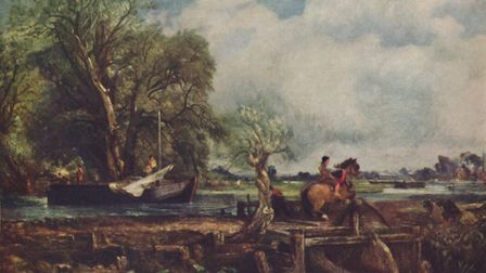John Constable's 'The Leaping Horse', 1825. Picture: Getty Images