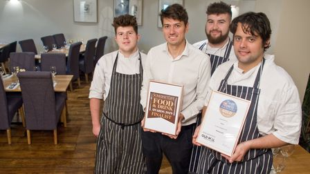 Dom Lamy and staff at Puro have won Gold in the restaurant category in the Taste of The West Awards