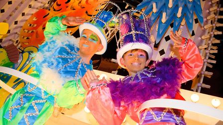 Weston Carnival marks 50 years of processions on Friday.Picture: Mark Atherton
