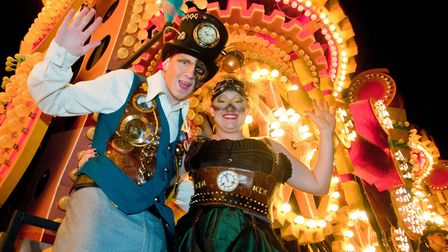 Carnival night in Weston will be on November 8 this year.