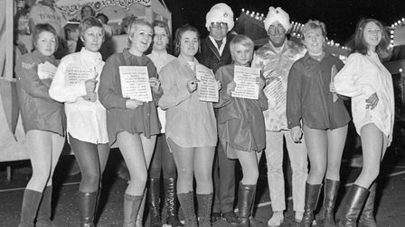 """""""Bargins Galore"""" entered by B.Bennett, of Weston's covered market at Weston's Winter Carnival."""