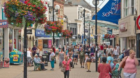 Views of Weston High Street. Picture: MARK ATHERTON