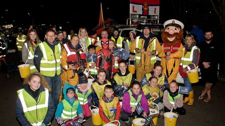 Burnham RNLI at Burnham Carnival. Picture: MARK ATHERTON