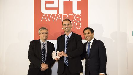 Powerbutton enjoyed success at the ERT Awards. Picture: Will Ireland