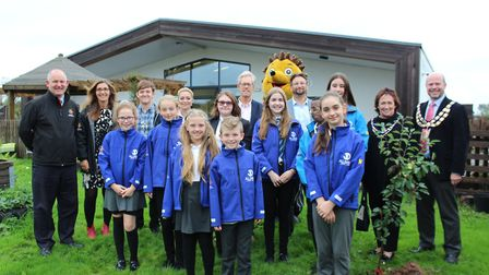 The first apple tree was planted at St Anne's Primary School.Picture: Skyla Hatcher