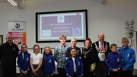 The first Jill Dando apple orchard was launched at St Anne's Primary School. Picture: Skyla Hatcher