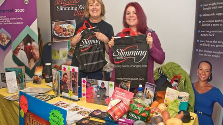 Slimming World at Wedmore Health and wellbeing day. Picture: MARK ATHERTON