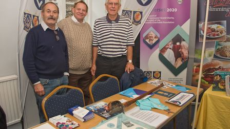 Wedmore Masonic Lodge at Wedmore Health and wellbeing day. Picture: MARK ATHERTON