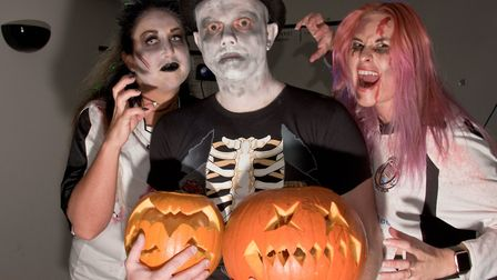 Family Halloween party at Portishead Football Club. Picture: MARK ATHERTON
