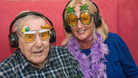 Tisley House hosting intergeneratial music workshop and silent disco. Picture: MARK ATHERTON