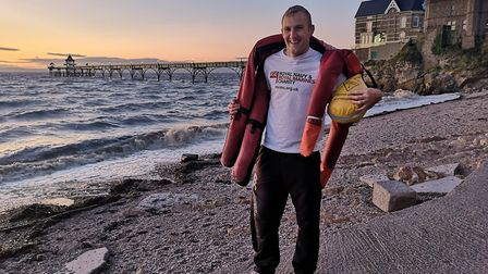 George Davis will run the Great South Run 2019 in aid of charities.Picture: Royal Navy