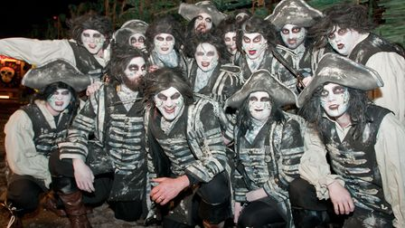 Weston Carnival, Silent Mary Masqueraders CC. Picture: MARK ATHERTON