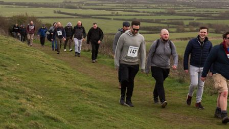 More than 170 people took part in the walk last year.
