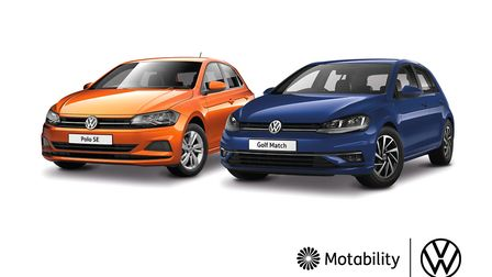 Motability offers have been launched by Volkswagen.