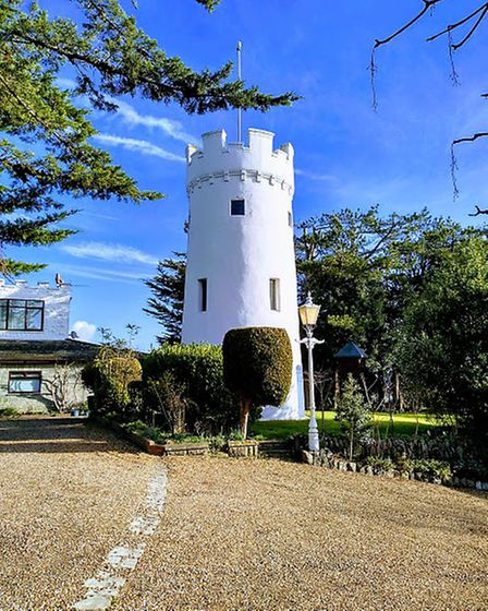 Worlebury Observatory on a bright and sunny day.Picture: Sarah Doe