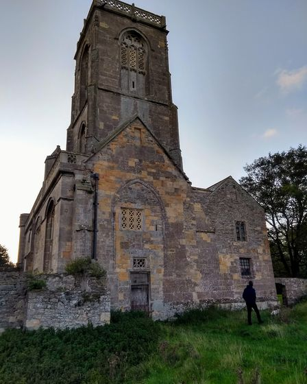 A striking church at Woodspring PrioryPicture: Sarah Doe