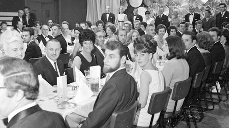 Weston Bay Yacht Club members and guests at a dinner and dance at the Winter Gardens Pavilion. P