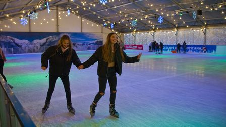 Icescape at The Tropicana. Picture: MARK ATHERTON