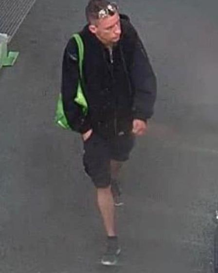 Police want to speak to this man in relation to a theft at Weston Asda.Picture: Avon and Somerset Co