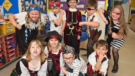 Pirate Day at Hannah Moore and Grove Schools. Picture: MARK ATHERTON