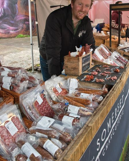 Somerset Charcuterie at Eat: Burnham food festival. Picture: MARK ATHERTON