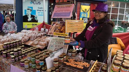 India in a Jar at Eat: Burnham food festival. Picture: MARK ATHERTON