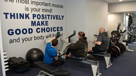 Hutton Moor Leisure Centre. Open day. Visitors trying out activities for free. Picture: MARK ATHE